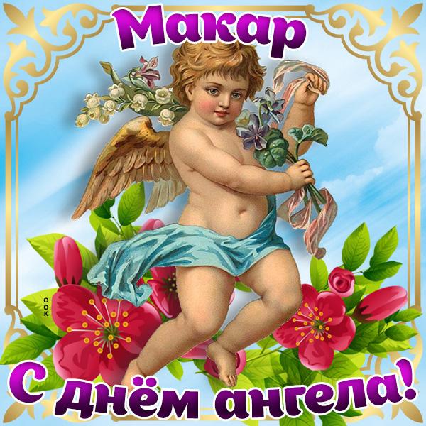 Открытка картинка с днём имени макар