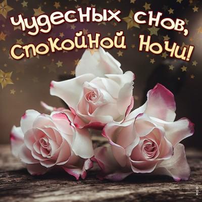 Картинка чудесная открытка спокойной ночи