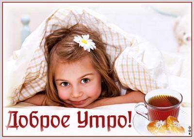 Открытка доброе утро и чудесного дня