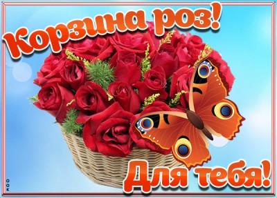 Картинка картинка эти розы для тебя