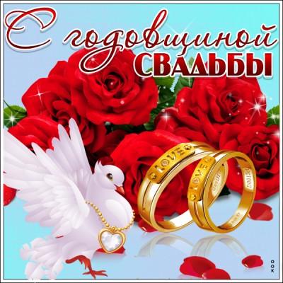 Картинка картинка поздравления с годовщиной свадьбы