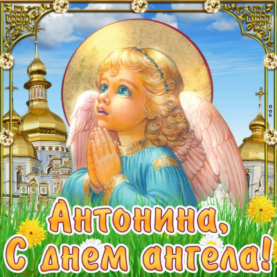 Открытка картинка с днём имени антонина