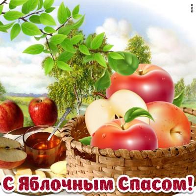 Картинка картинка витаминный праздник яблочный спас