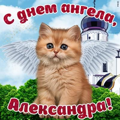 Картинка красивая картинка с днём ангела александре
