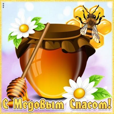 Картинка красивая картинка с медовым спасом